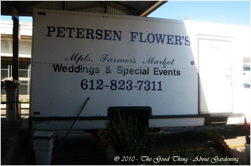 Petersen Flowers Truck