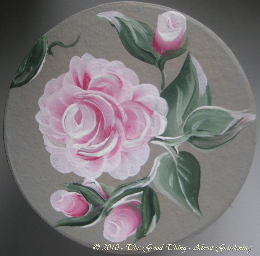 Painted Rose Box
