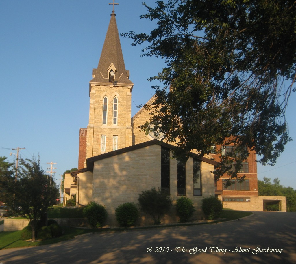 The Lutheran Church on Church Hill was built by the Presbyterians using local limestone.